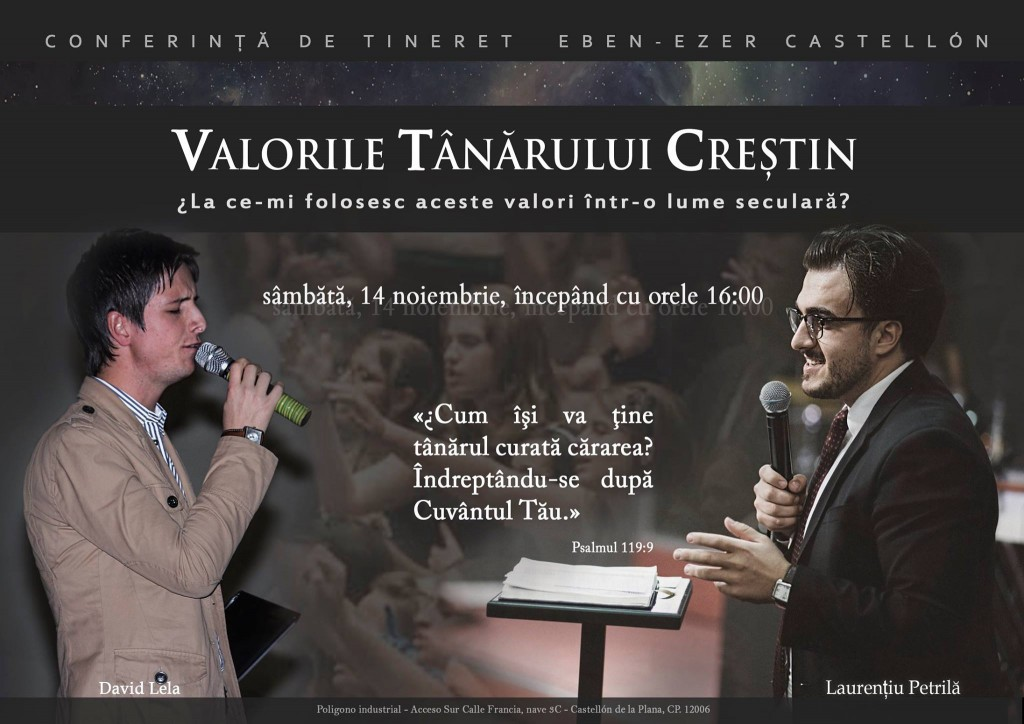 CONFERINTA TINERET CASTELLON