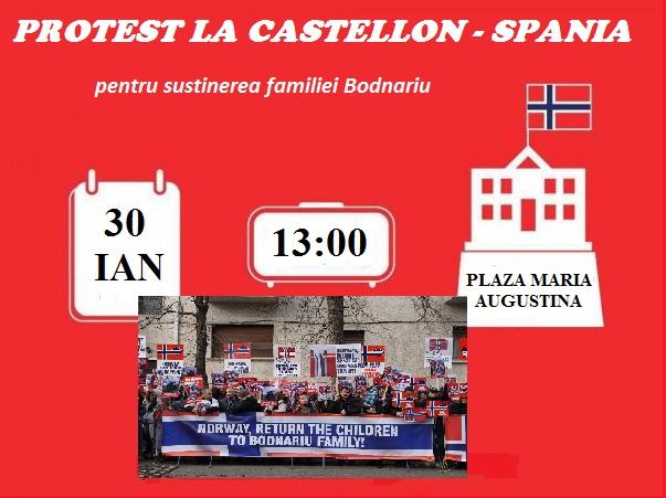 Protest la Castellon - banner