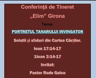 Conferinta Girona